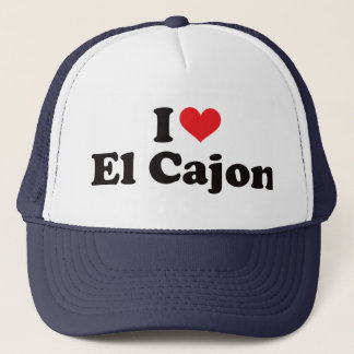 I Heart El Cajon Trucker Hat