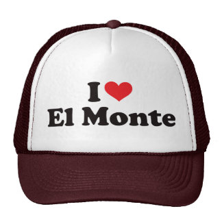 I Heart El Monte Trucker Hat