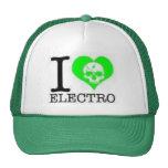 i heart electro hat