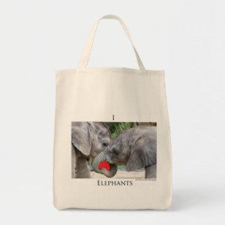 I(heart)elephants Bag