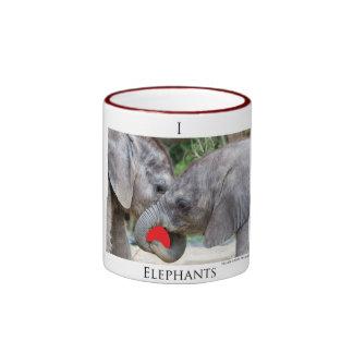 I(heart)elephants Coffee Mugs
