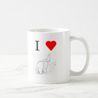 I heart elephants mugs
