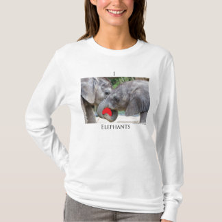 I(heart)elephants T-Shirt