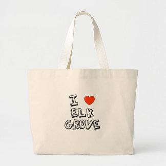 I Heart Elk Grove Large Tote Bag