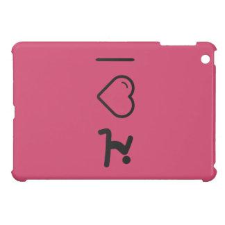 I Heart Elongations Cover For The iPad Mini