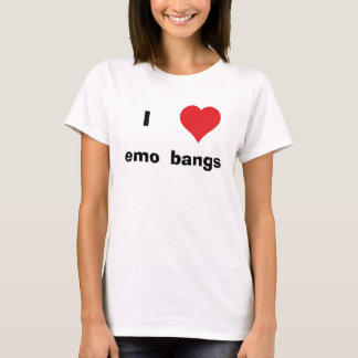 I Heart emo bangs T-Shirt
