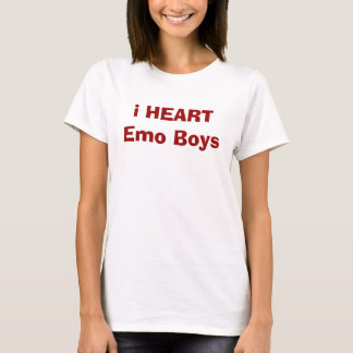 i HEART Emo Boys T-Shirt