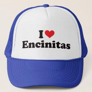 I Heart Encinitas Trucker Hat