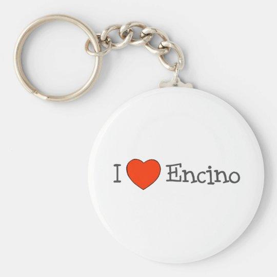 I Heart Encino Keychain