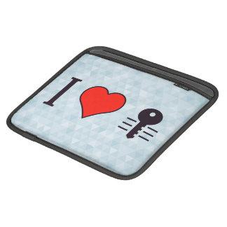 I Heart Encrypting My Private Data iPad Sleeve