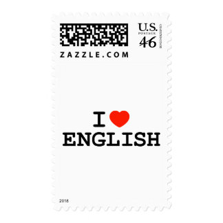 I Heart English Stamps
