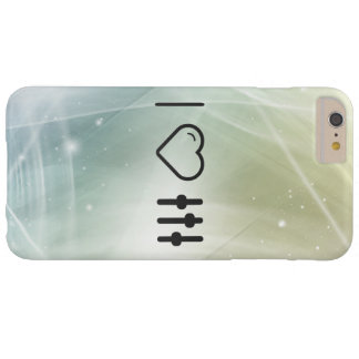 I Heart Equalizer Sliders Barely There iPhone 6 Plus Case