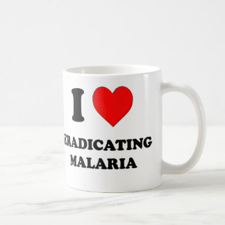 I Heart Eradicating Malaria Classic White Coffee Mug