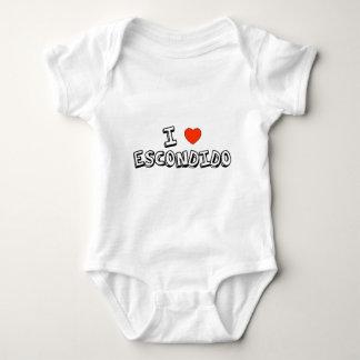 I Heart Escondido Baby Bodysuit
