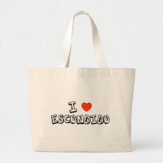 I Heart Escondido Large Tote Bag