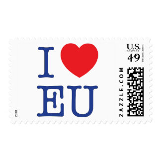 I Heart EU stamp