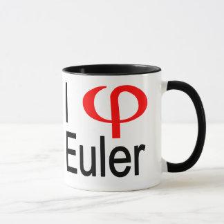 i heart Euler Mug