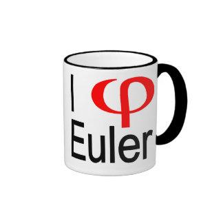 i heart Euler Ringer Coffee Mug