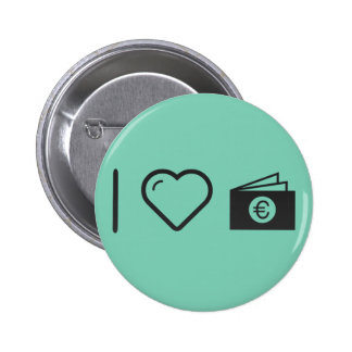 I Heart Euro Files 2 Inch Round Button