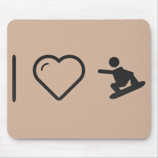 I Heart Extreme Skaters Mouse Pad