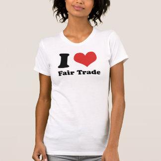 I Heart Fair Trade Women's Fine Jersey Short Sleev T Shirt