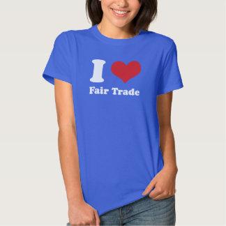 I Heart Fair Trade Women's Hanes ComfortSoft® Tee Shirt