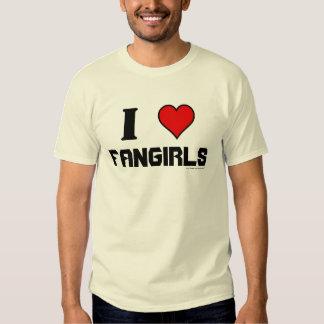 I Heart Fangirls Tee Shirt