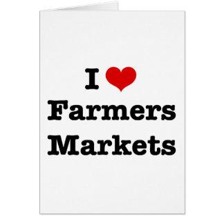 I Heart Farmers Markets Card