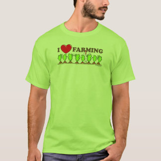 I Heart Farming T-Shirt
