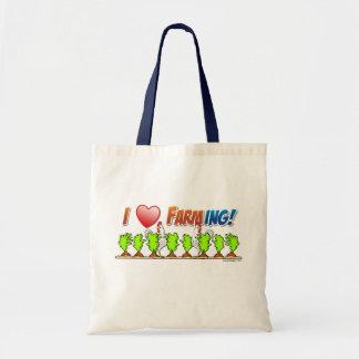 I Heart Farming Tote Bag