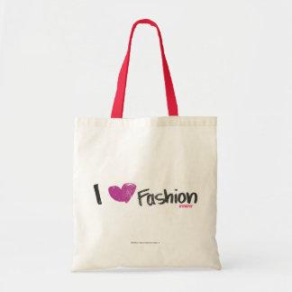 I Heart Fashion Aqua Tote Bag