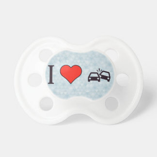 I Heart Fast And Furious Pacifier