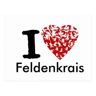 I Heart Feldenkrais Postcard | Fully Editable
