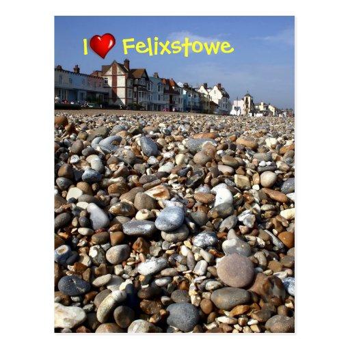 I heart Felixstowe postcard