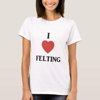 I heart felting T-Shirt
