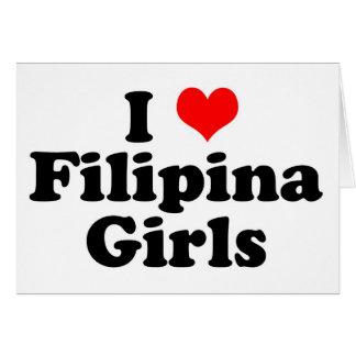 I Heart Filipina Girls Card