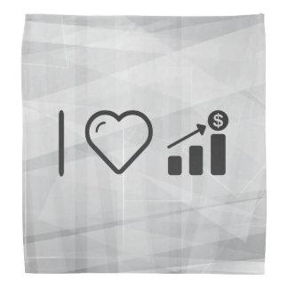 I Heart Financial Targets Bandana