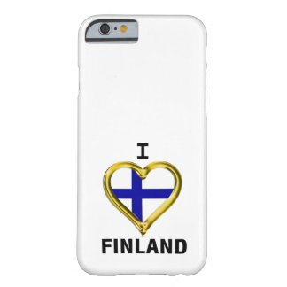 I HEART FINLAND BARELY THERE iPhone 6 CASE
