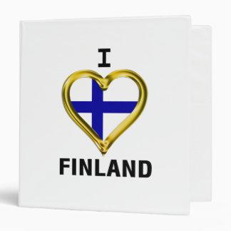 I HEART FINLAND BINDER