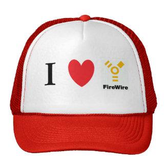 I Heart Firewire Trucker Hat