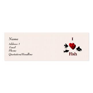 I Heart Fish Business Card