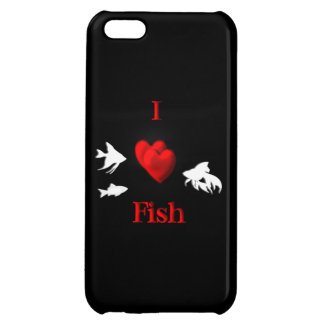 I Heart Fish Case For iPhone 5C