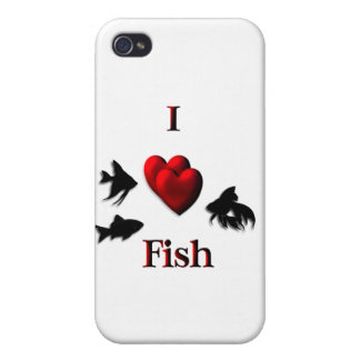 I Heart Fish iPhone 4/4S Covers