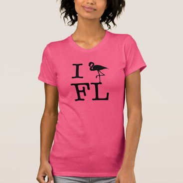 Beach Themed I Heart FL T-Shirt