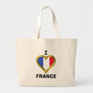 I Heart Flag France Bag