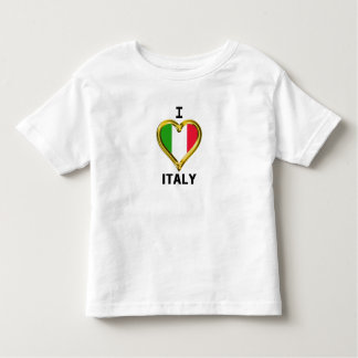 I Heart Flag Italy Shirt
