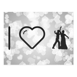 I Heart Flamenco Rumbas Postcard