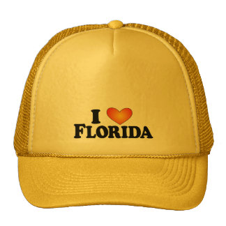 I (heart) Florida - Lite Multi-Products Mesh Hat