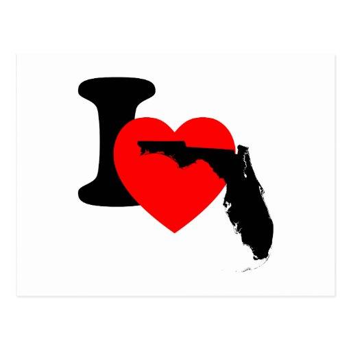 I Heart Florida Postcard