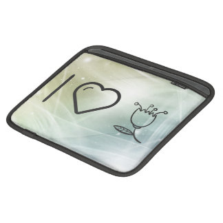 I Heart Flower Healths Sleeves For iPads